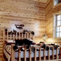 Cedar Paneling Loft