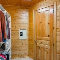 Cedar Paneling Walk-in Closet
