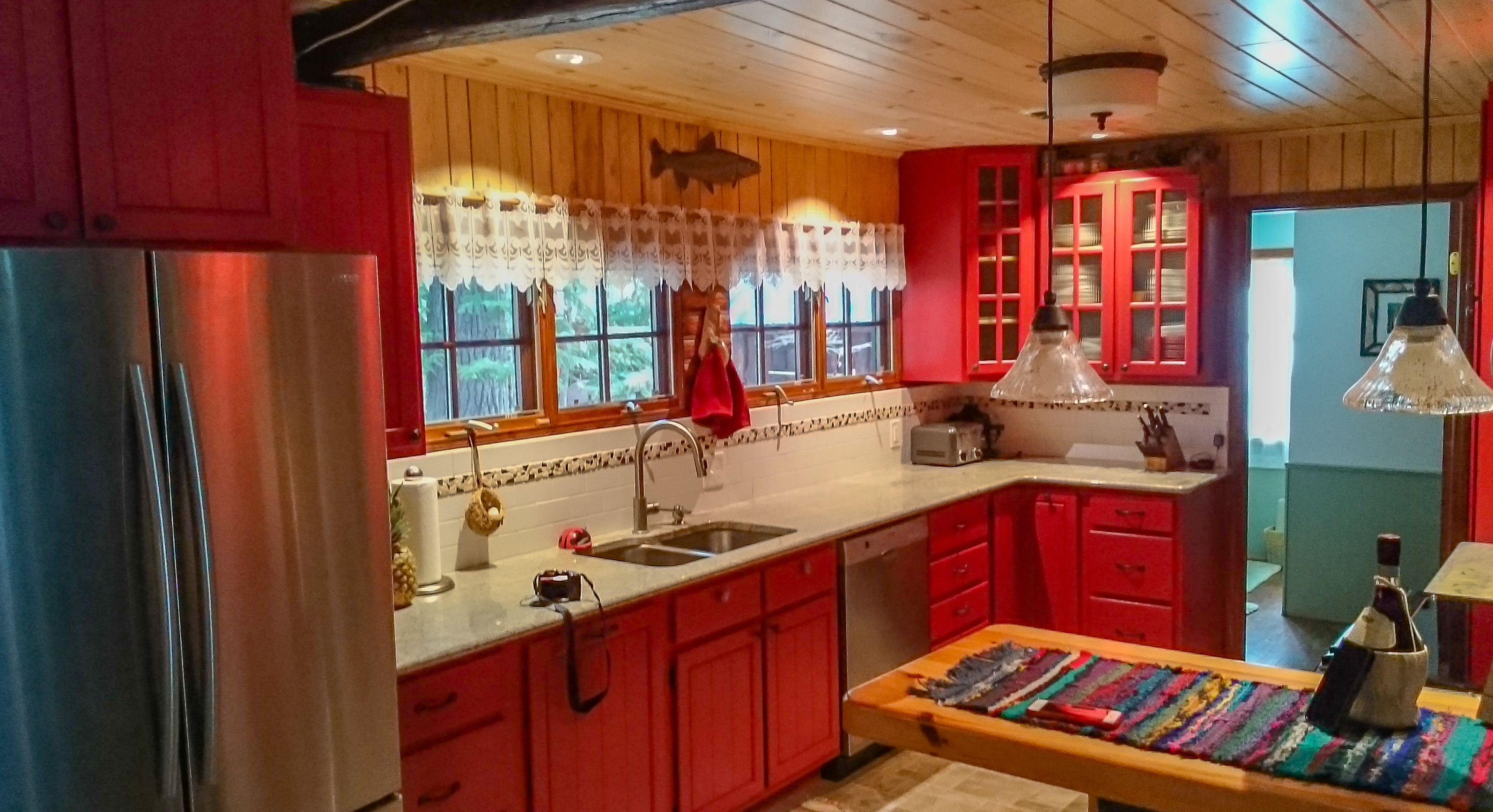 Custom Painted Kitchen Cabinetry