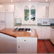 Custom White Painted Kitchen
