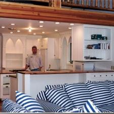 Custom White Painted Kitchen 1