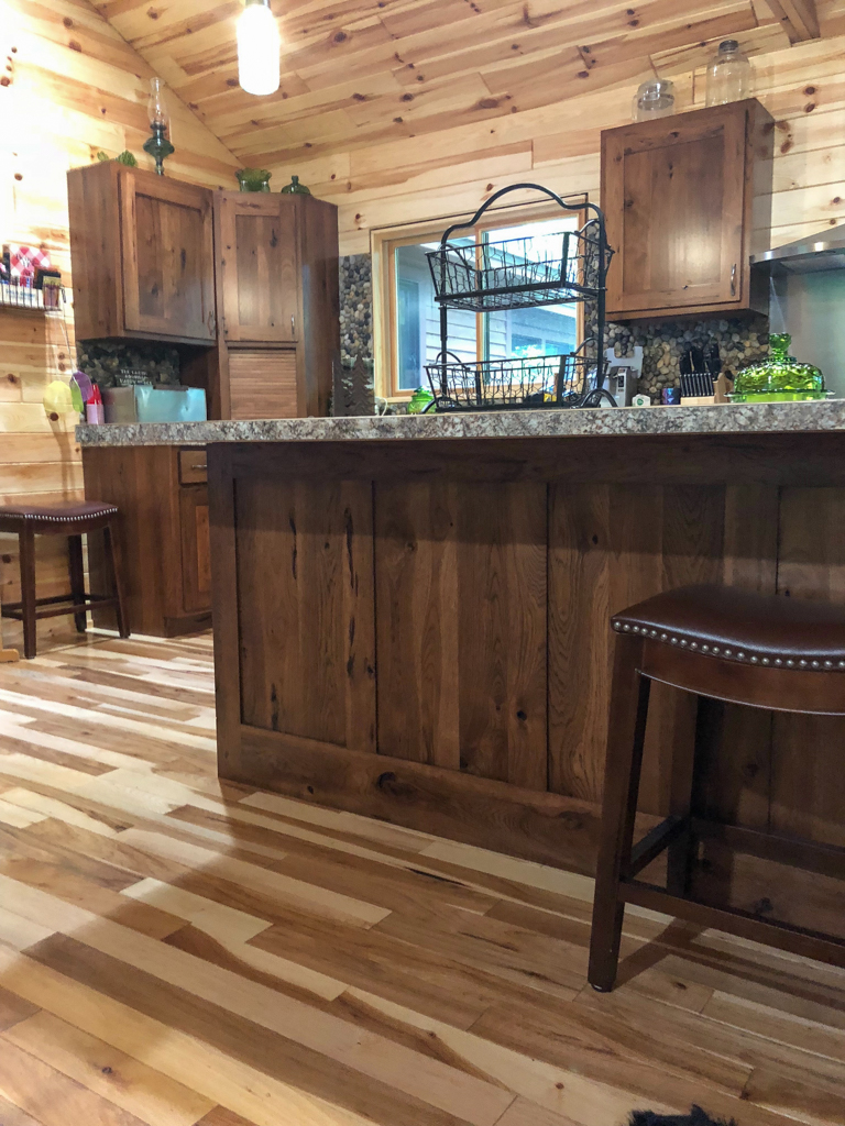 Custom Stained Hickory Cabinetry 2