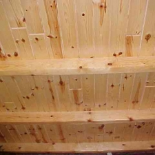 2x6 Tongue and Groove Knotty Pine Loft Decking