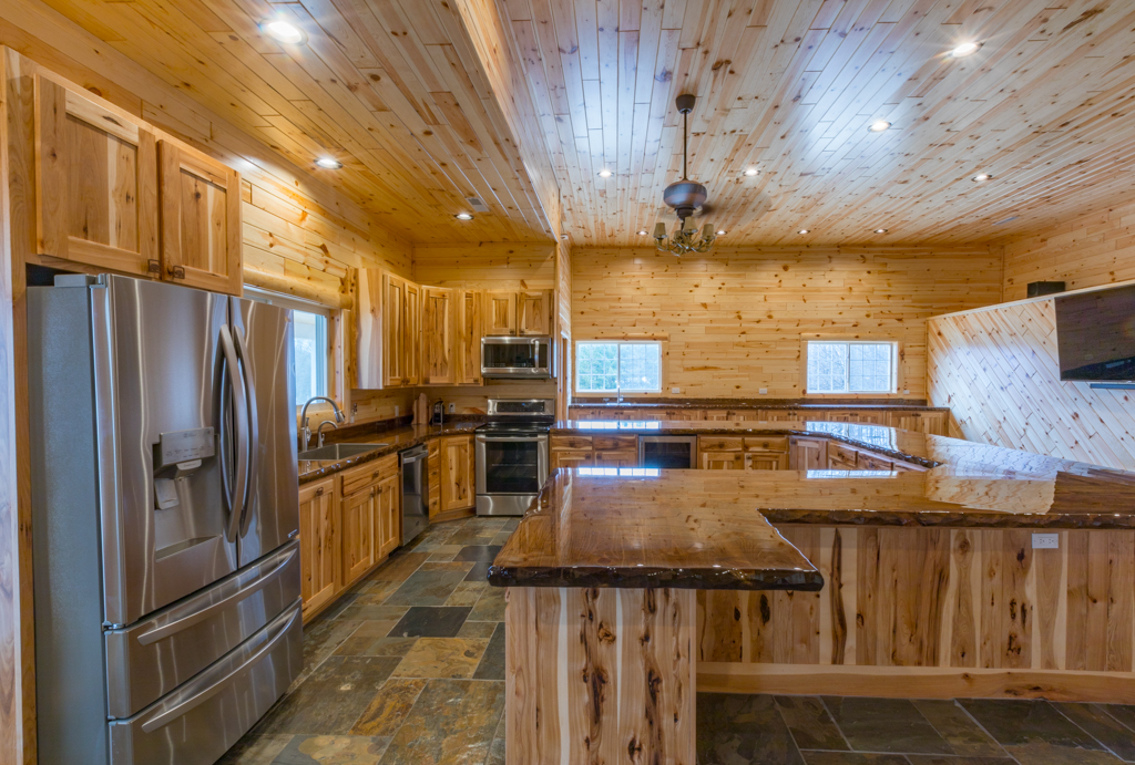 Hickory-Cabinets