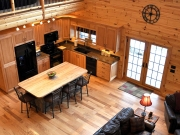 Living Room Knotty Pine