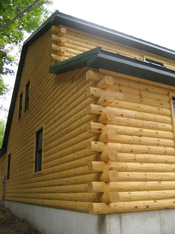 Log Cabin Corners Log Siding Corners Woodworkers Shoppe