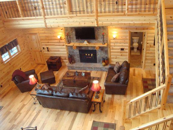 Log Siding Interior