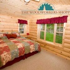 Log Siding Bedroom