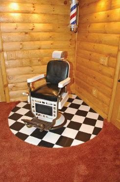 Man-Caves Barber Chair