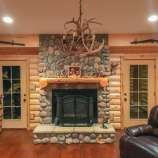 Man Cave Fireplace