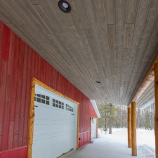 Exterior Weathered Gray & Red Barnwood