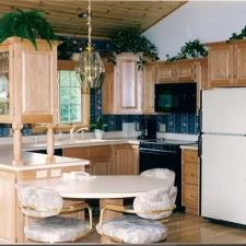 Raised Panel Oak Cabinetry