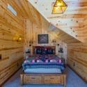 Knotty Pine Paneling Bedroom
