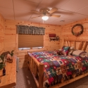 Knotty Pine Bedroom