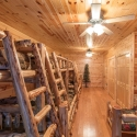 Prefinished Knotty Pine Paneling Bedroom