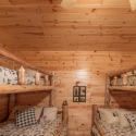 Prefinished Knotty Pine Bunk Bedroom