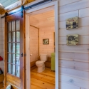 One-of-a-kind Bathroom in White Washed Paneling