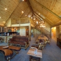 Prefinished Knotty Pine Paneling Living Room