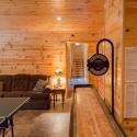 Prefinished Pine Paneling Gameroom