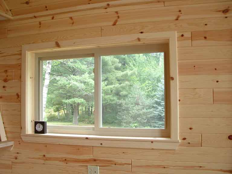 Pine Amp Cedar Trim Log Cabin Trim Woodworkers Shoppe
