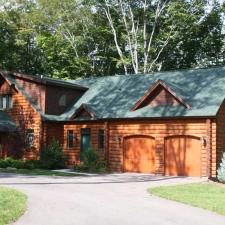 Complete Log Home With Custom Corners
