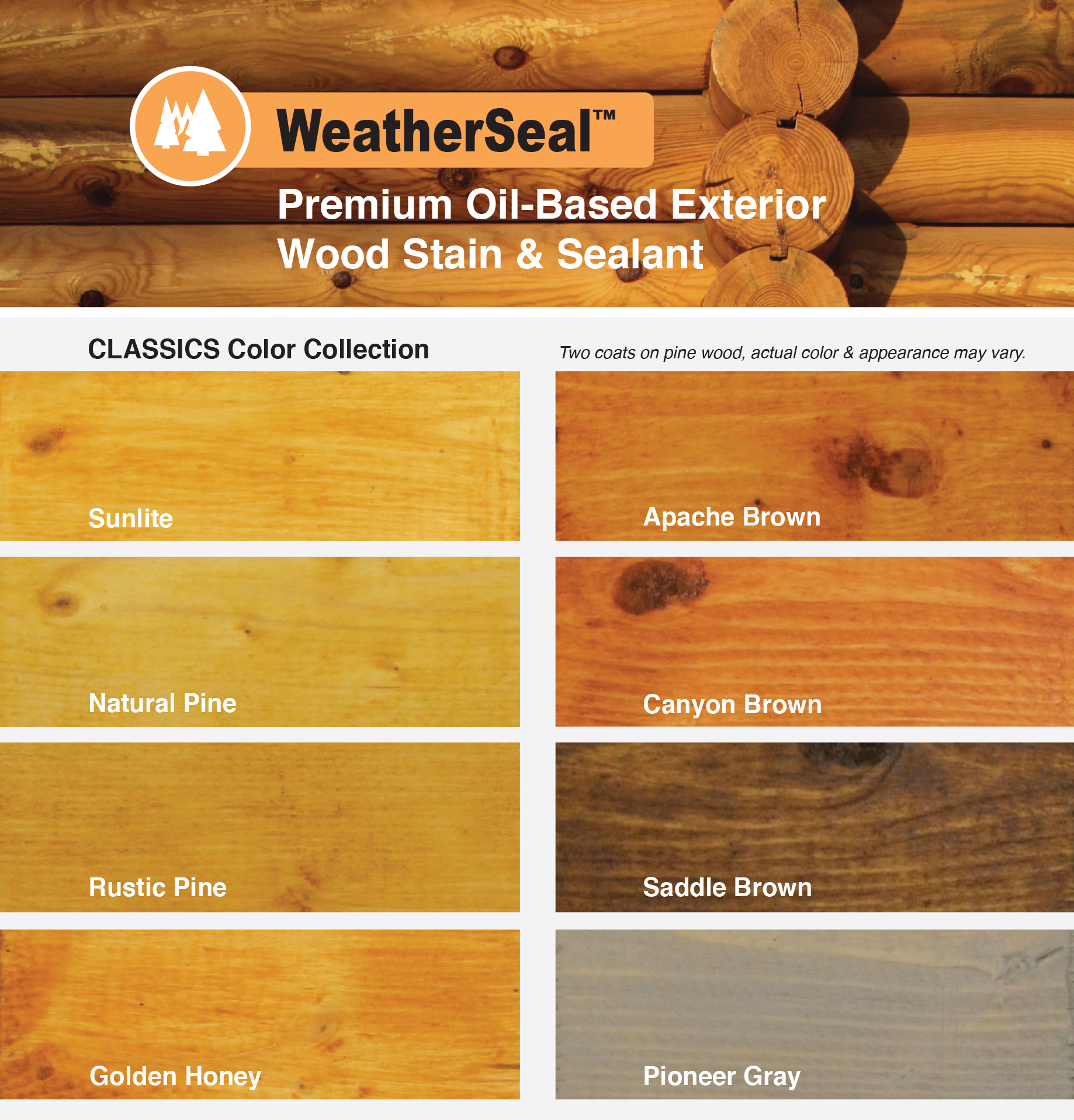WeatherSeal Classics Color Collection