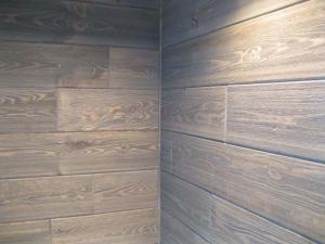 Barnwood Paneling Wall Inside Corner