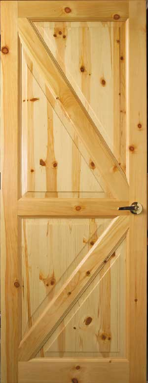 Custom Interior Wood Doors Cedar Amp Knotty Pine Doors