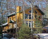 Log Siding for all Seasons