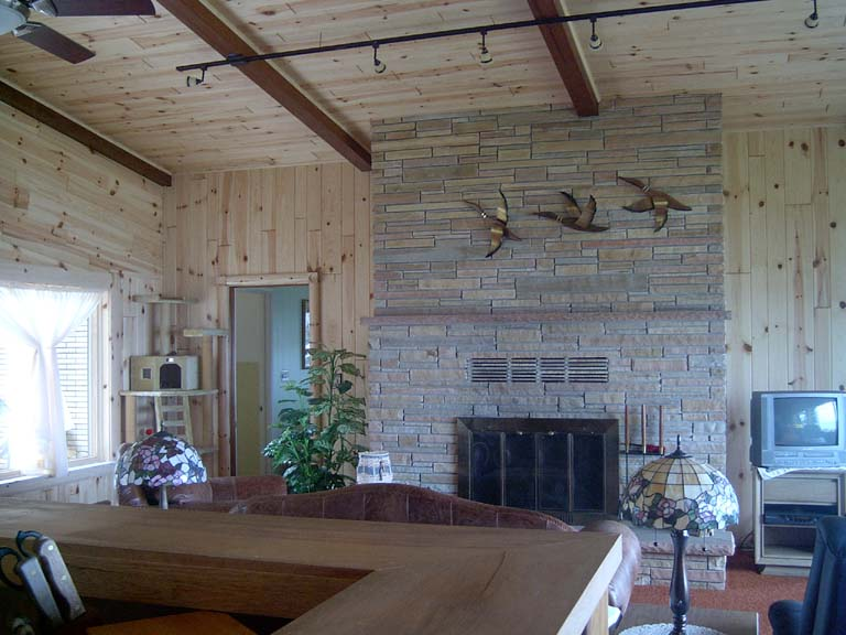 Log Home Makeover | Make Your Home Look Like A Log Cabin