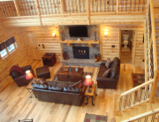 Applications of Knotty Pine in Log Cabins and Log Homes