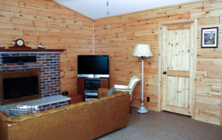 Weathered Knotty Pine Paneling