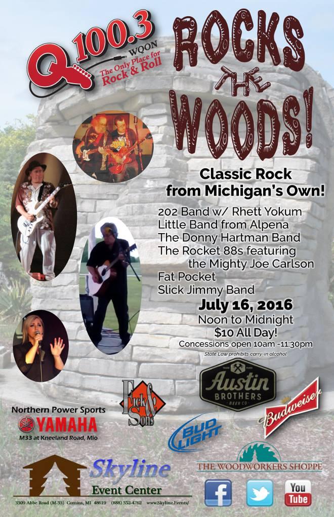 Rock The Woods