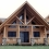 Complete Your Log Home with Knotty Pine Posts, Log Beam Covers, and Wood Trusses