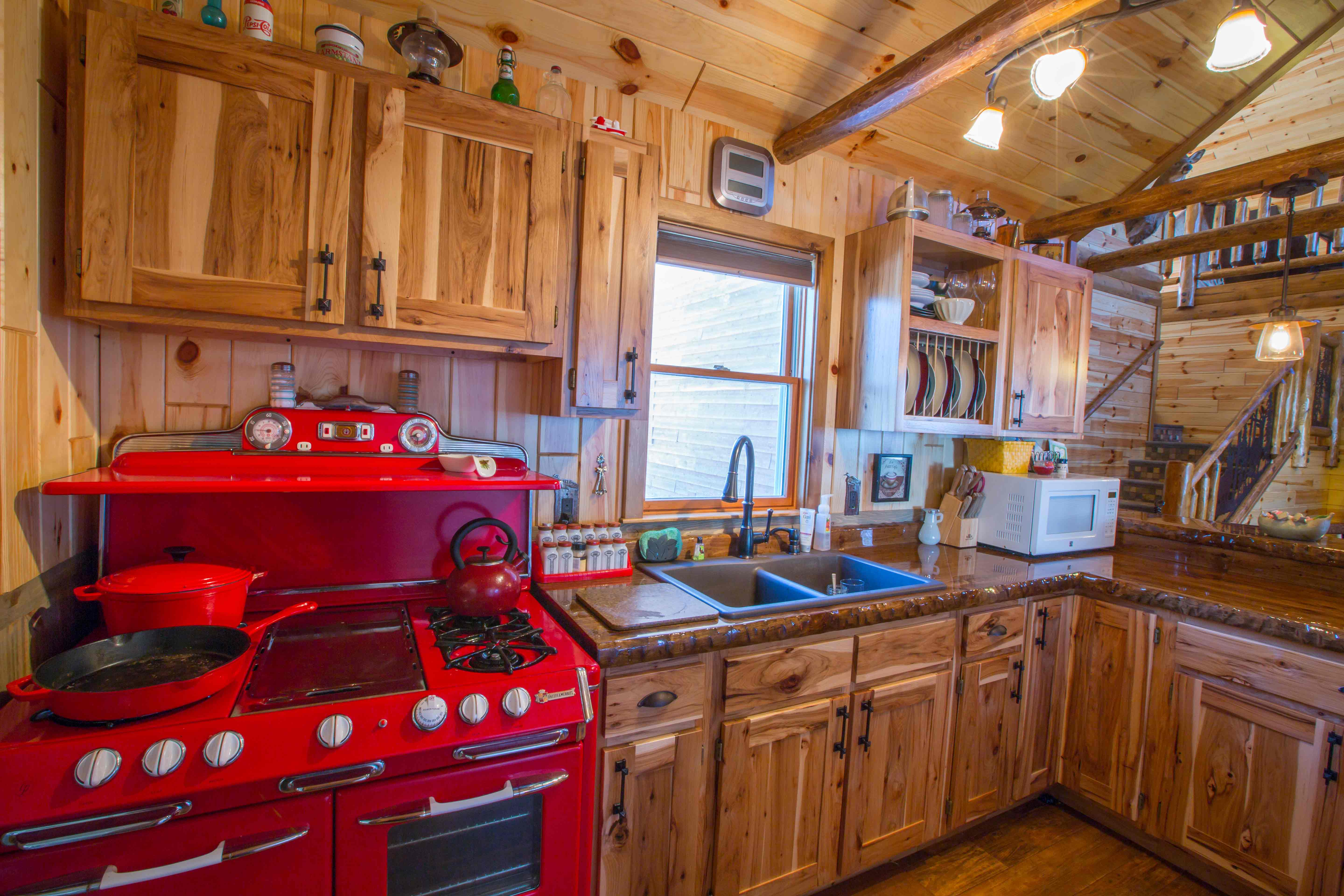 Beyond Knotty Pine Paneling - Accessorizing your Home