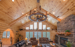 Adorn Your Den with Knotty Pine Paneling