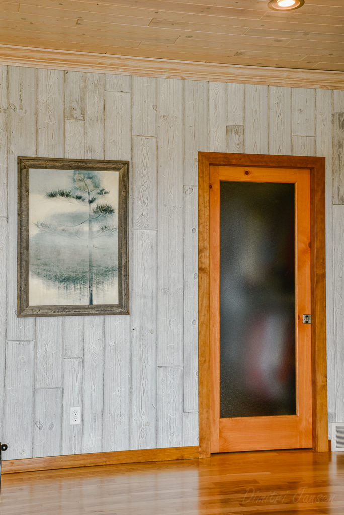 How to Install Rustic Wood Baseboard Molding in a Log Cabin
