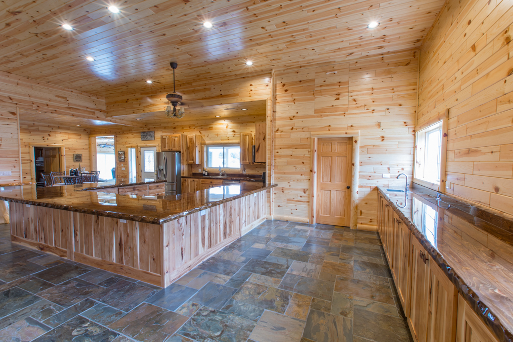 Dazzle Your Guests with Rustic Knotty Pine Paneling