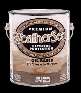 WeatherSeal Stain 1 gallon