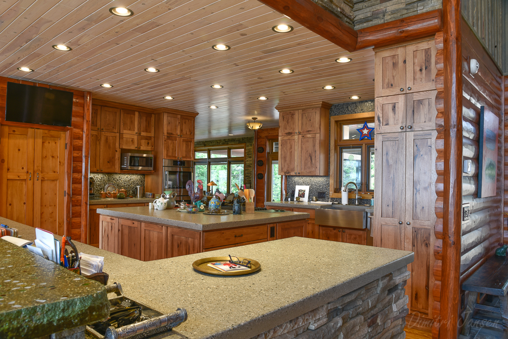 Add Rustic Wood Kitchen & Bathroom Cabinets to Your Home
