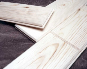 Knotty Pine Tongue and Groove Paneling