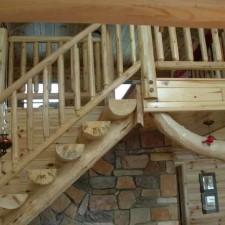 Лестница Half Log