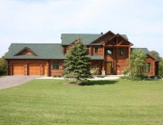 Builders Love Creating Homes with Log Siding