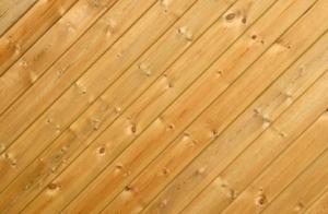 Paneling Knotty Pine