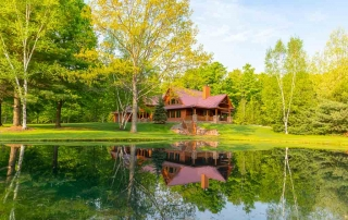 Live Out Your Dreamsin a Log Home