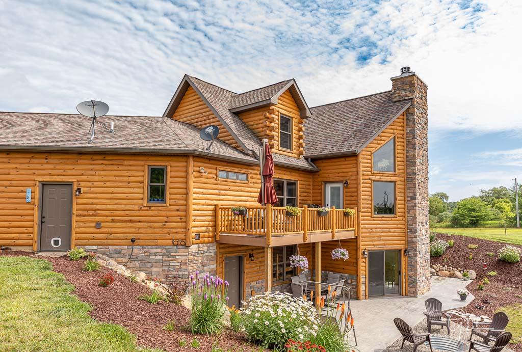 Log Home Siding