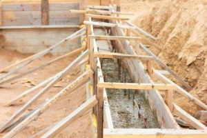 Laying the Foundation and Floor Joists