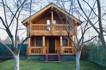 wood log siding insulation