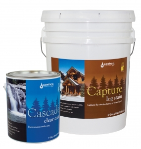 Capture Exterior Stain & Cascade Clear Coat