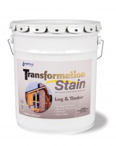 Transformation Log & Timber Stain